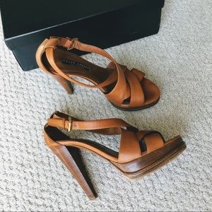 Ralph Lauren Collection Purple Label Calf Sandals